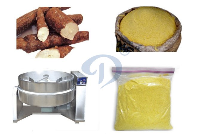 Small scale garri processing technology