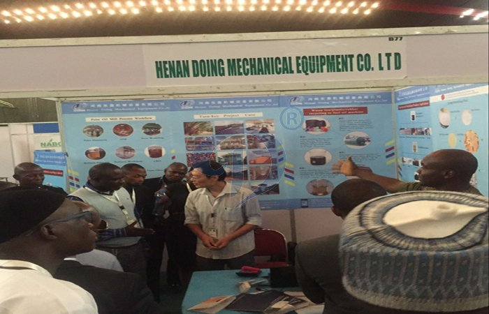 cassava processing machine exhibition