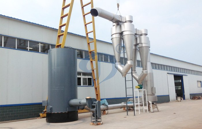 cassava starch dryer machine
