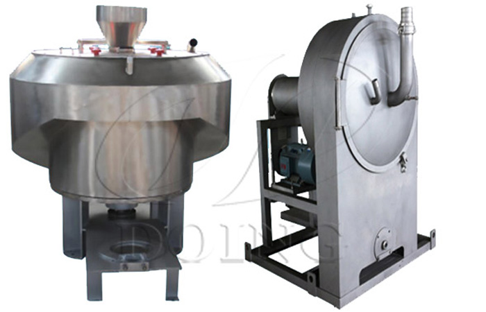 Centrifuge sieve machine for making starch