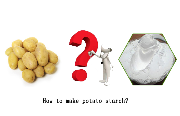 how to make potato starch
