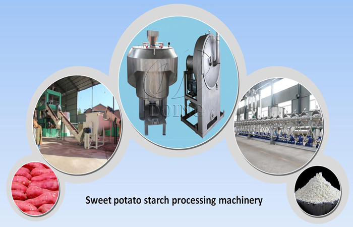 practical sweet potato starch production line