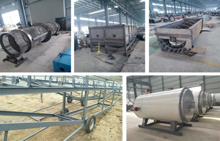 10TPD Garri processing equipment on production for Nigeria client