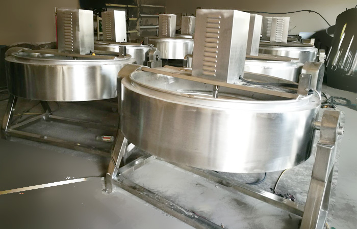 10TPD Garri processing equipment on production for Nigeria client_Video