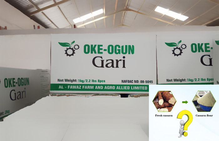 Business plan on garri processing industry