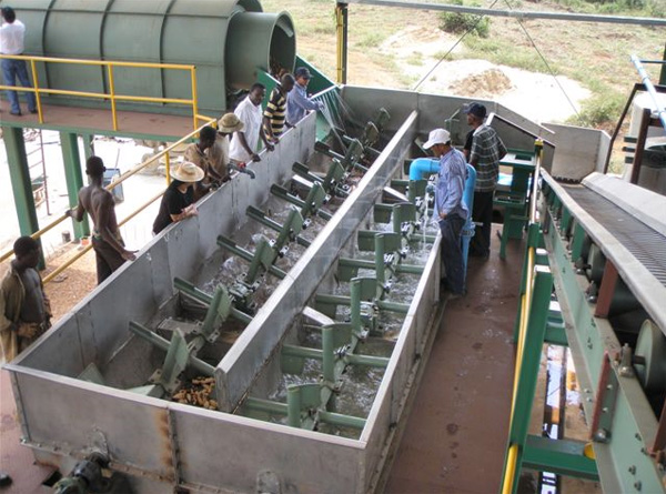nigeria cassava cleaning machine
