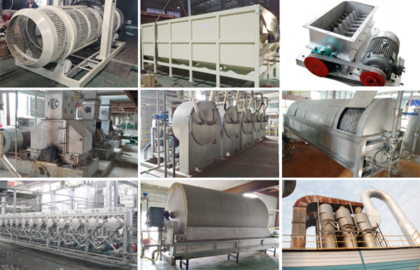 cassava starch processing machinery