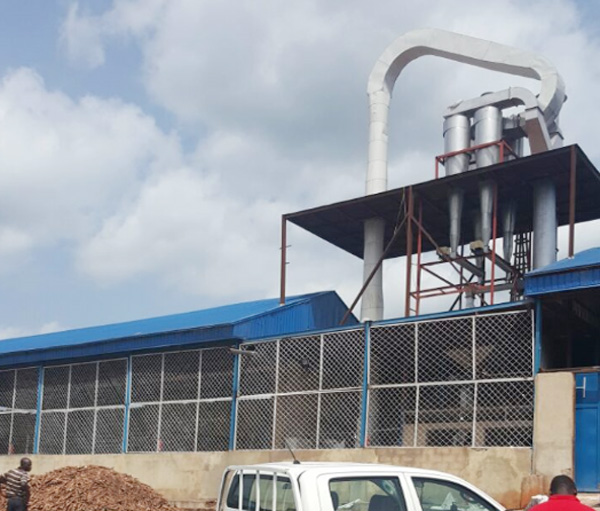 cassava flour drying machine in Nigeria