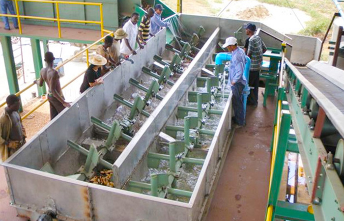 Complete set cassava flour making machine