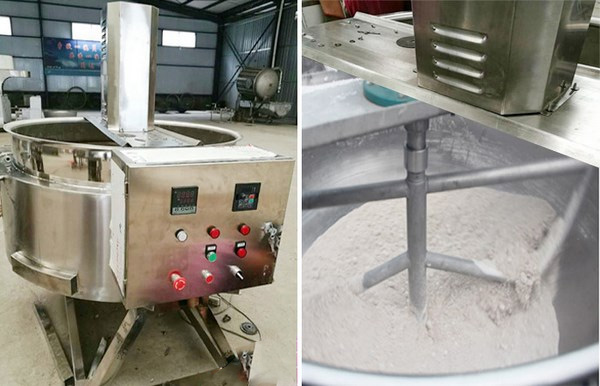 garri frying machine in Nigeria