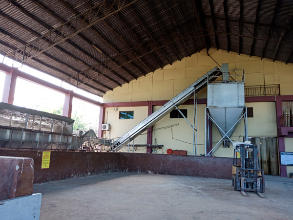 The only cassava starch factory in ghana closed