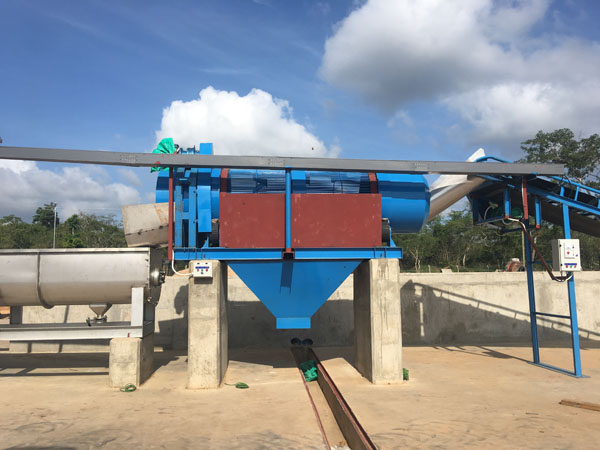 cassava cleaning machine
