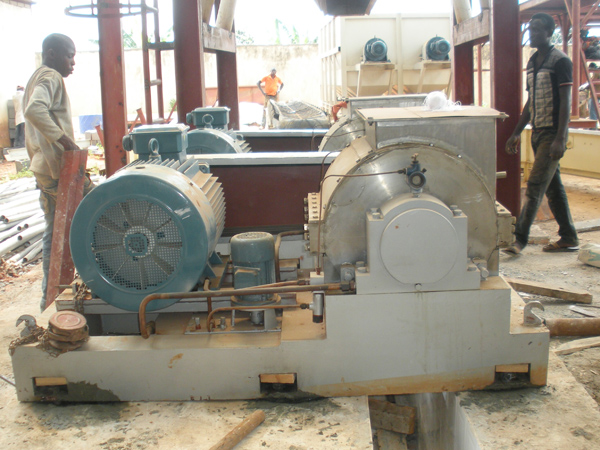 cassava starch making machine
