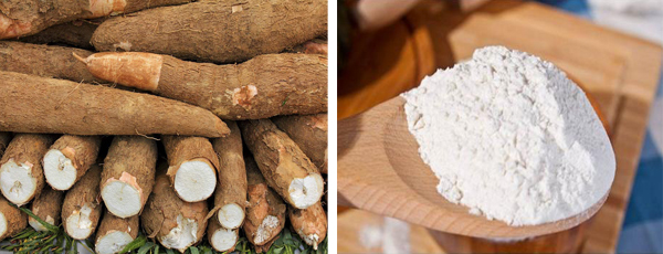 what is cassava flour used for