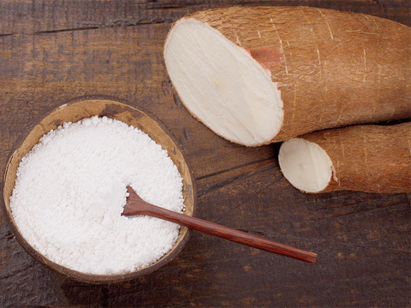 What is the use of cassava flour ?