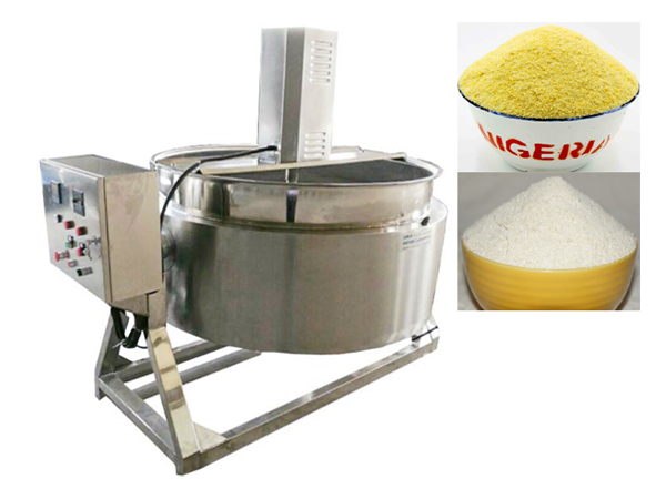 A brief introduction of garri processing machine in Ghana