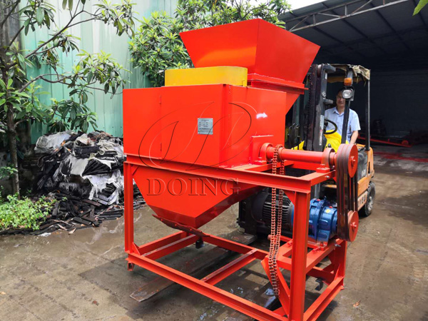 Cassava chips processing machine shipped to Nigeria