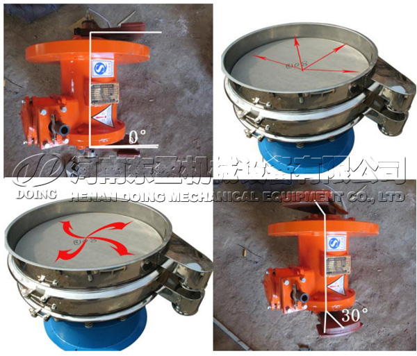 garri sieving machine