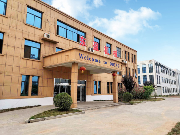 Henan Doing Company reformed our factory to provide better equipment and service for customers
