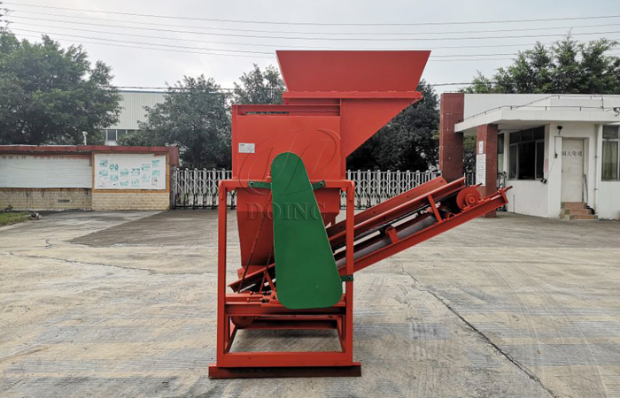 New design cassava chipping machine operation video