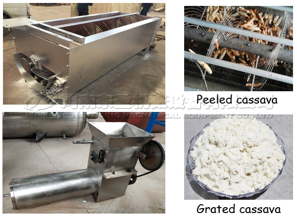garri processing and packaging