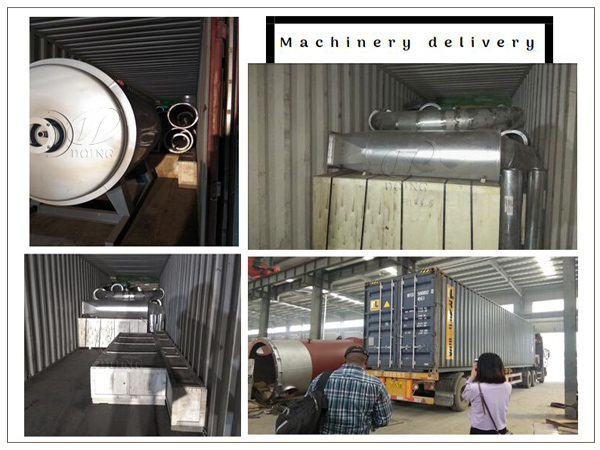 DOING delivered cassava flour processing machine to the Democratic Republic of the Congo