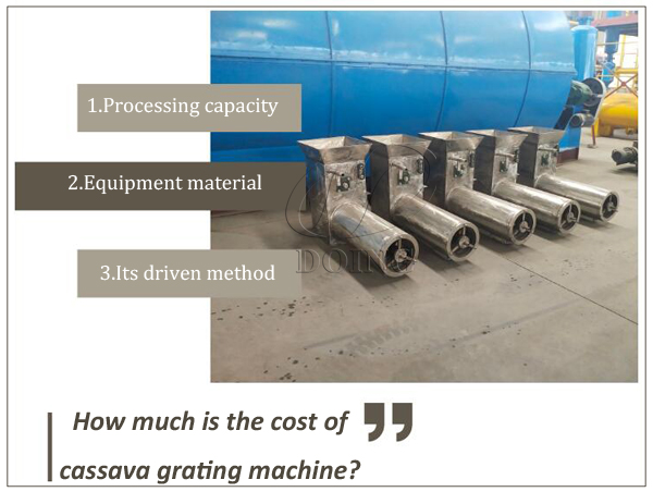 cost of cassava grating machine