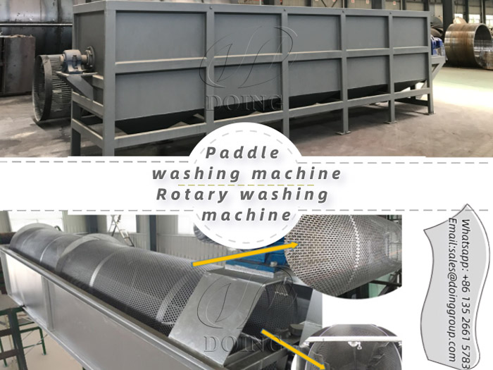 The similarity and difference between paddle washing machine and rotary washing machine