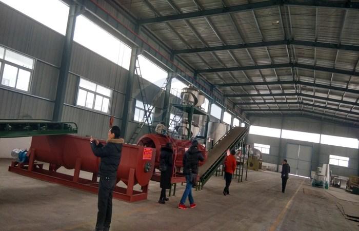 Cassava starch processing plant in Nigeria - cassava starch