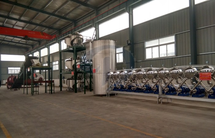 yam flour production line machine